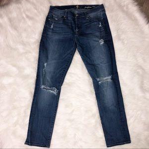 74AMK josefina boyfriend skinny jeans 27